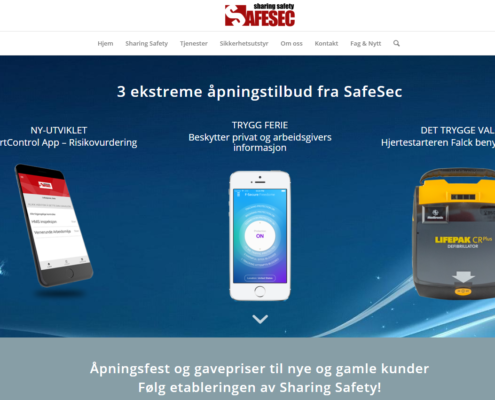 Smart controll, Freedome, Hjertestarter